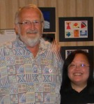 Jerry Harste and Vivian Vasquez